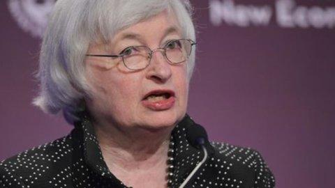 Fed, Yellen: rialzo dei tassi entro l'anno