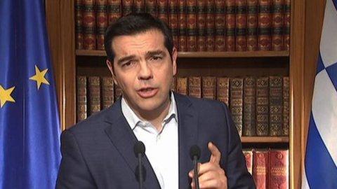 """Tsipras: """"Austerità ha fallito, ora accordo per uscire dal tunnel"""""""