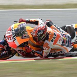 MotoGp: pole di Marquez in Germania, Rossi parte sesto