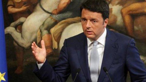 """Renzi: """"Accordo importante e non scontato"""""""
