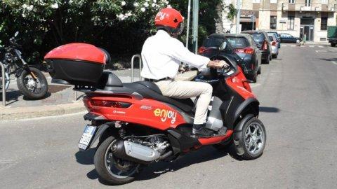Milano, Enjoy lancia lo scooter sharing