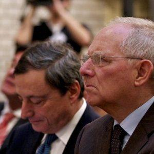 Grexit e debito greco: si riaccende il duello Draghi-Schaeuble