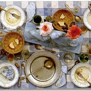 Eat Art: una corrente artistica che intrappolò il cibo nelle resine, in mostra con le ricette