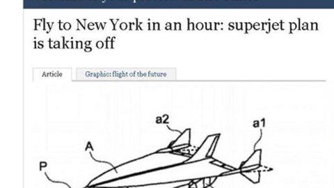 Airbus brevetta il Concorde 2: Londra-New York in un'ora