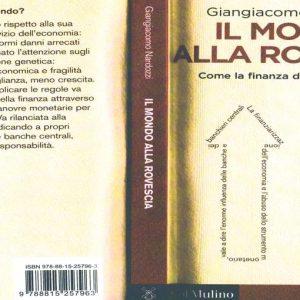 """""""Il mondo alla rovescia – Come la finanza dirige l'economia"""": un nuovo saggio di Nardozzi"""
