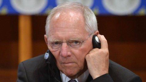 Salvataggio Grecia: Schaeuble fiducioso su accordo in giornata
