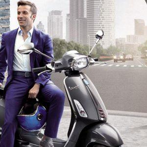 Piaggio: Del Piero ambasciatore del marchio Vespa in India