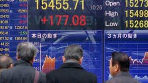 Tokyo in rosso su dati Cina, ma recupero Shangai spinge l'Europa