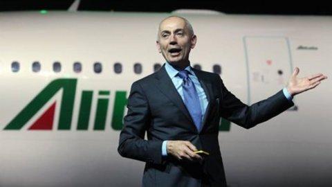Alitalia: conti in rosso per 130 milioni nei primi sei mesi