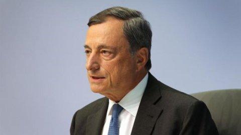 """Bce, Draghi: """"Se sarà necessario non esiteremo a rafforzare il Qe"""""""