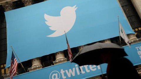 Twitter crolla a Wall Street dopo i conti