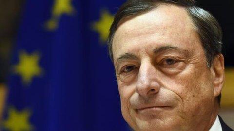 """Bce, Draghi: """"Possibile aumento del Qe a dicembre"""""""