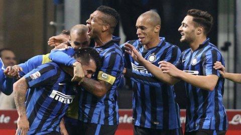 Milano vince la doppia sfida con Roma: Inter e Milan stendono Roma e Lazio