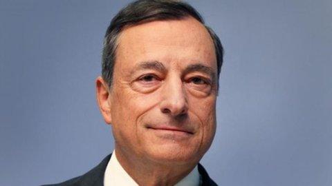 """Bce, Draghi: """"Pronti a usare ogni strumento a disposizione"""""""