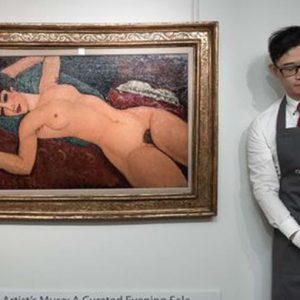 Il Modigliani da record a un ex tassista cinese