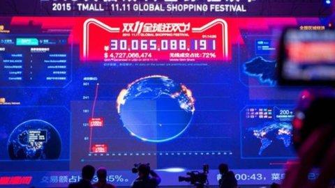 Alibaba, record di vendite nella Festa dei Single: acquisti per un miliardo in 8 minuti