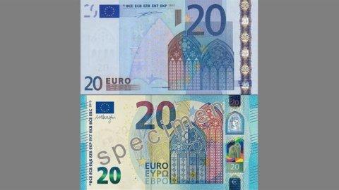 Europa: domani debutta la nuova banconota da 20 euro. Ecco come riconoscerla
