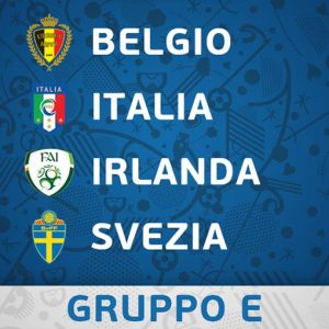 Euro 2016: per l'Italia girone difficile ma non impossibile