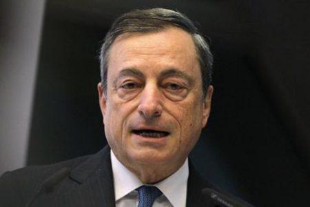 """Draghi in campo: """"Intervenire subito anche con più debito pubblico"""""""