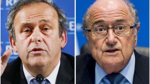 Blatter e Platini sospesi per 8 anni dalla Fifa