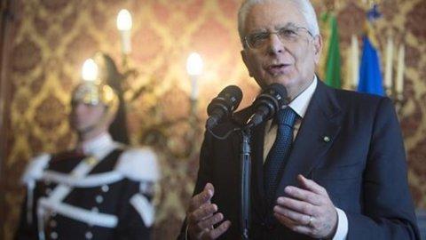 QUIRINALE – Orgoglio italiano nel primo messaggio del Presidente della Repubblica Sergio Mattarella