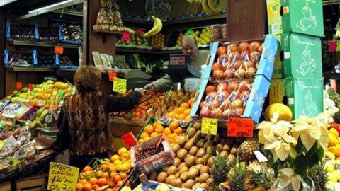 Istat: inflazione risale dopo 7 mesi