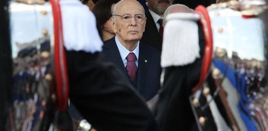 """Il presidente emerito Giorgio Napolitano: """"Al referendum voterò sì"""""""