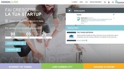 Edison Pulse: al via concorso per startup innovative