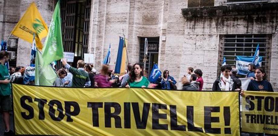 Referendum anti-trivelle: noi prof e professionisti non votiamo SI