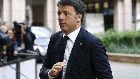 """Renzi: """"L'Europa è la nostra casa, lavoriamo per la stabilità"""""""
