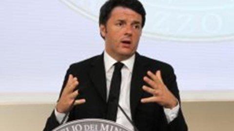 """Renzi: """"Chi mi attacca ha distrutto l'Ulivo"""""""