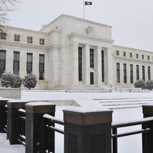 Usa, la Fed lascia i tassi fermi allo 0,25-0,50%