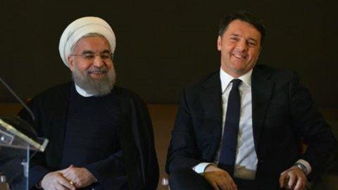 Italia- Iran: acciaio, gas, tecnologia. Firmate 14 nuove intese