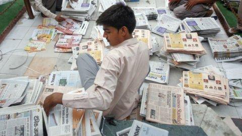 Sorpresa: in India è boom dei giornali cartacei, ecco perché