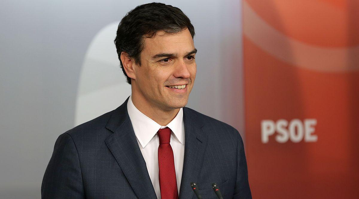 Il premier della Spagna Pedro Sanchez