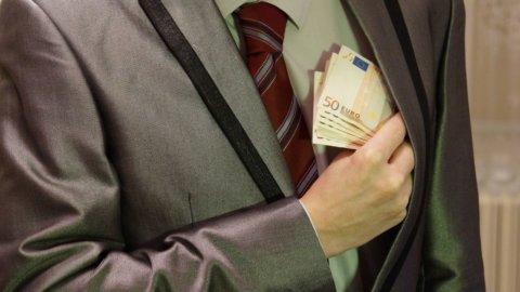 In Italia la corruzione vera è molto più bassa di quella percepita