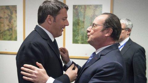Brexit, patto Renzi-Hollande: 6 mesi  per salvare la Ue
