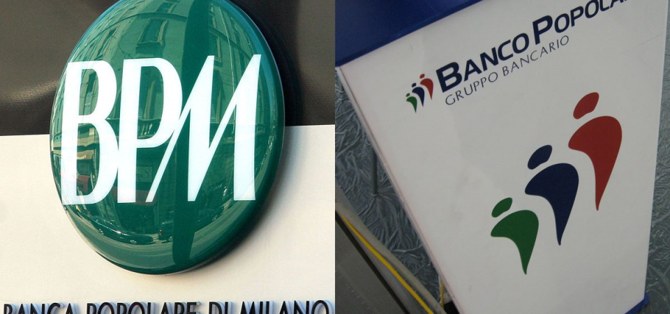 Bpm-Banco Pop: scattano i realizzi