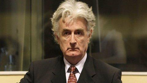 Karadzic condannato a 40 anni per Srebrenica