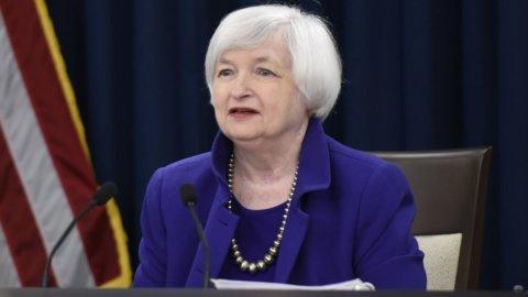 """Fed, Yellen: """"Rialzo tassi vicino, ma non basterà"""""""