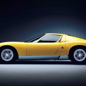 Lamborghini: la Miura compie 50 anni