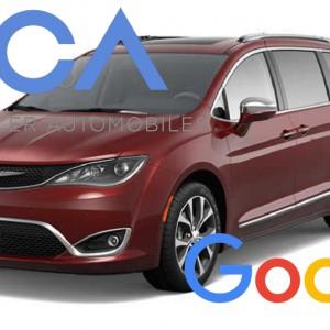 Fca-Google: entro l'anno 100 prototipi senza guidatore
