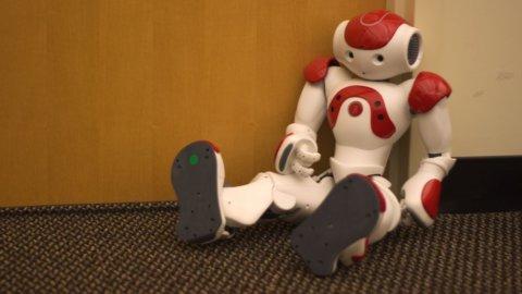Ecco Nao, il robot con l'intelligenza di un super pc Ibm