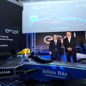 Enel sale su Formula E, al via il campionato di auto elettriche da corsa