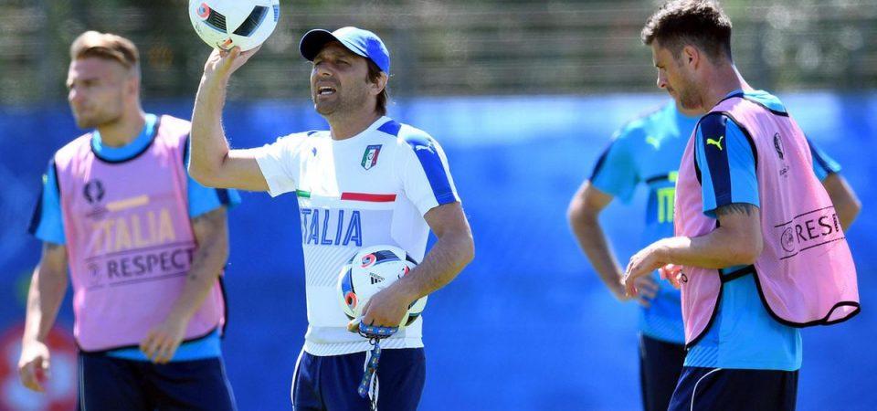 Europei di calcio: debutta l'Italia. La grinta di Conte contro il Belgio