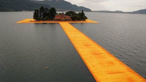 Lago d'Iseo, tutti pazzi per Christo: IL VIDEO