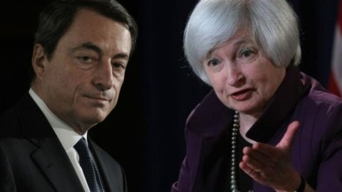 Draghi e Yellen fanno scudo sulla Brexit