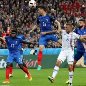 Euro 2016: Islanda senza lieto fine, la Francia dilaga 5-2