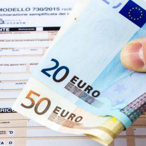 Irpef, record di rimborsi: 940 euro a contribuente