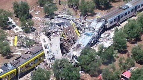 Puglia: scontro treni, oggi funerali